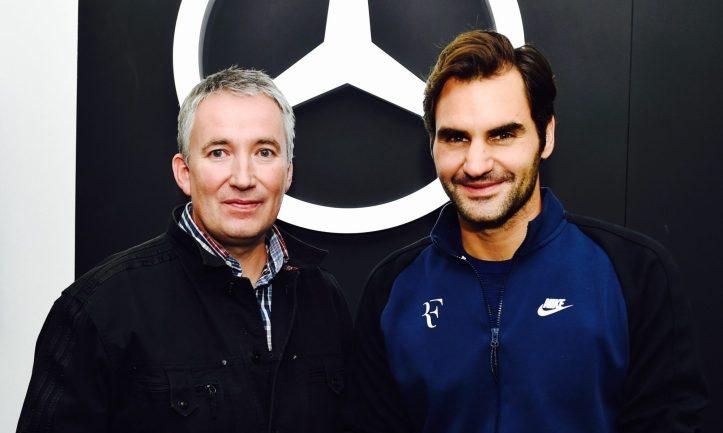Fritz meets Federer